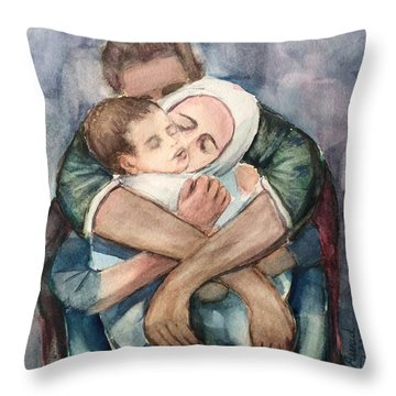 The Saddest Moment Throw Pillow