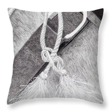 Saddle Strap Throw Pillow