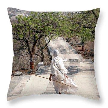 Sadhvi Throw Pillow