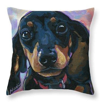 Sadie Throw Pillow by Nadi Spencer