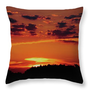 Sadie's Sunset Throw Pillow