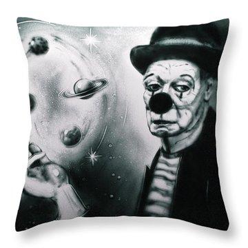 Sadness Of Creator Throw Pillow