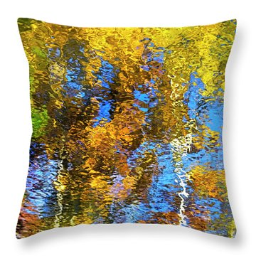 Safari Mosaic Abstract Art Throw Pillow by Christina Rollo