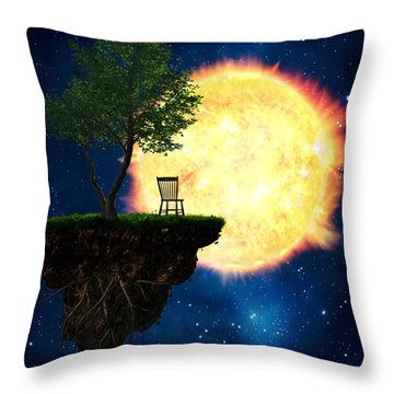 Safe Distance Throw Pillow