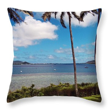 Safe Harbor Throw Pillow by Anthony Baatz