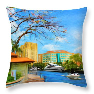 Safe Harbor Series 60 Throw Pillow