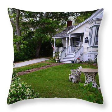 Safe Haven House Southport Throw Pillow