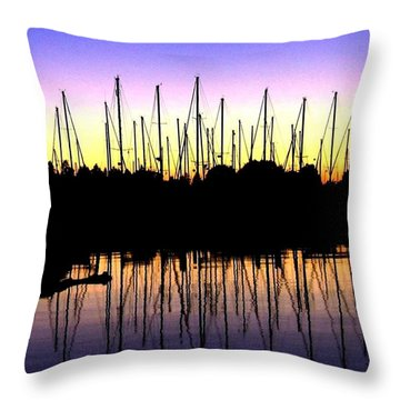 Safe Haven Throw Pillow by Will Borden