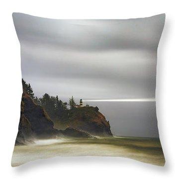 Safe  Passage Throw Pillow by James Heckt