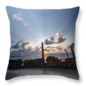 Safe Shore 02 Throw Pillow