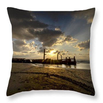 Safe Shore 04 Throw Pillow