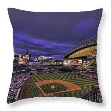 Safeco Field Throw Pillow