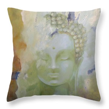 Sage Buddha Throw Pillow