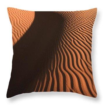 Sahara Dune II Throw Pillow