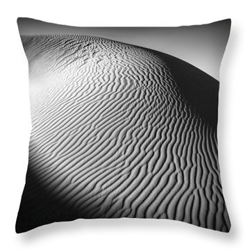 Sahara Dune Throw Pillow