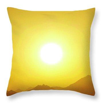 Sahara Sunset 2 Throw Pillow