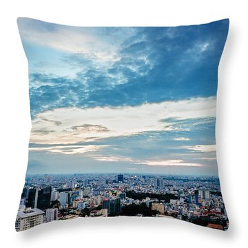 Sai Gon Afternoon Throw Pillow