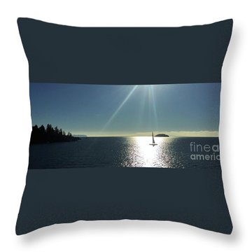 Sail Free Throw Pillow