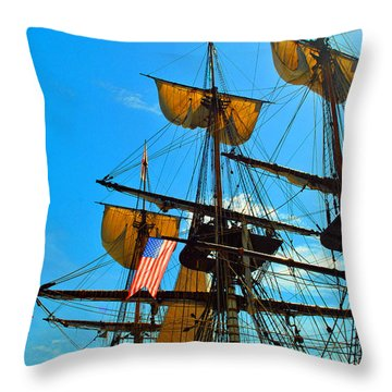 Sail To The Wind Throw Pillow