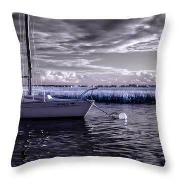 Sailboat 04 Throw Pillow