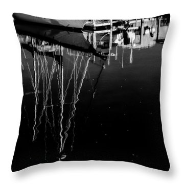 Sailboat 05 Throw Pillow