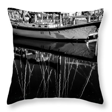 Sailboat 06 Throw Pillow