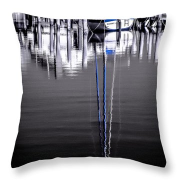 Sailboat 07 Throw Pillow