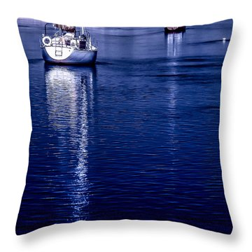 Sailboat 08 Throw Pillow