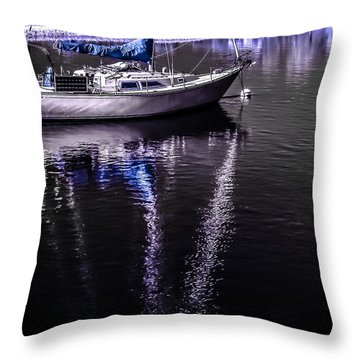 Sailboat 11 Throw Pillow