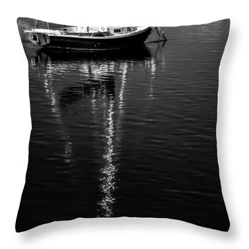 Sailboat 12 Throw Pillow