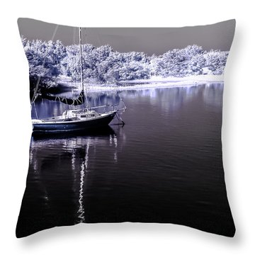 Sailboat 14 Throw Pillow