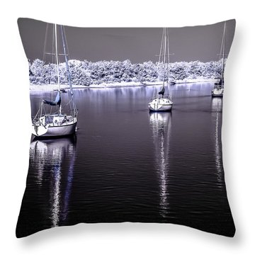 Sailboat 16 Throw Pillow