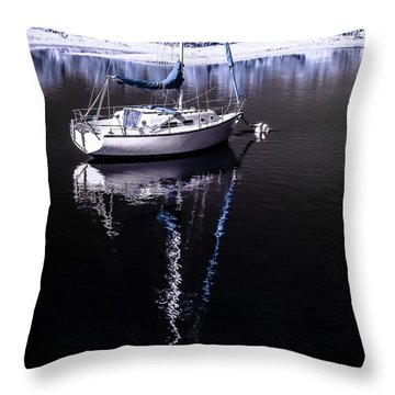 Sailboat 17 Throw Pillow