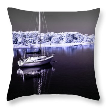Sailboat 18 Throw Pillow