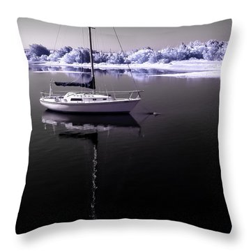 Sailboat 19 Throw Pillow