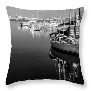 Sailboat 20 Throw Pillow