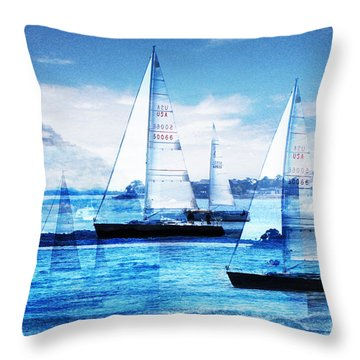 Sailboat Throw Pillows