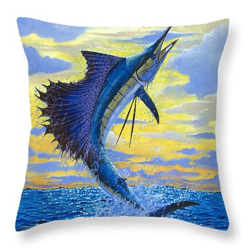Sailfish Point Off00158 Throw Pillow