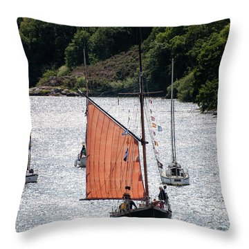 Sailing 46 Throw Pillow