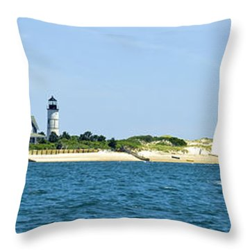 Sailing Around Barnstable Harbor Throw Pillow