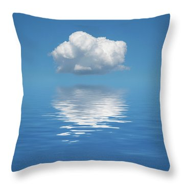 Sailing Away Throw Pillow by Jerry McElroy