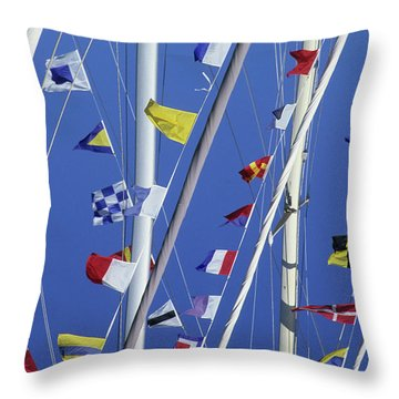 Sailing, General Throw Pillow