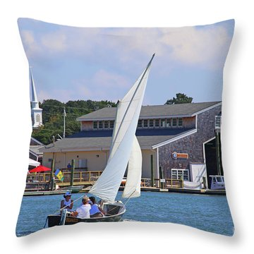 Sailing The Dorothy Throw Pillow