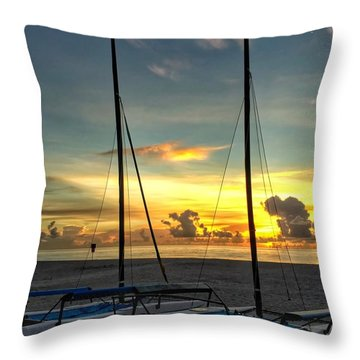 Sailing Vessels  Throw Pillow