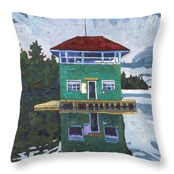 Sailors Club House Throw Pillow