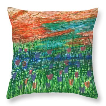 Sailors' Delight Throw Pillow