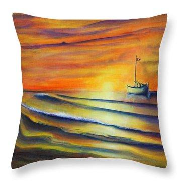 Sailor's Delight Throw Pillow