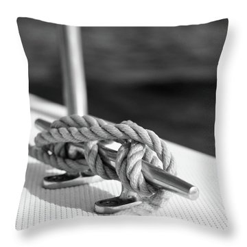 Sailor's Knot Square Throw Pillow