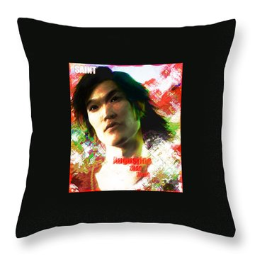 Saint Augustine Of China Throw Pillow