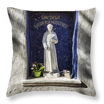 Saint Didacus Alcove Throw Pillow